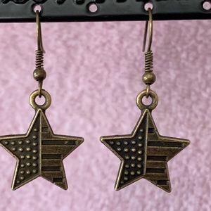 Star Flag Earrings
